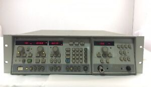 Agilent 8350b Sweep Oscillator With 83522a Plug in Module Ships Today