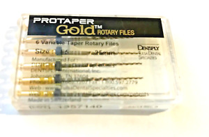 Protaper Gold Rotary Files 25mm F5 Dentsply Tulsa Assorted Endodontics Endo