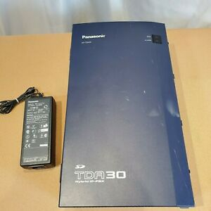 Panasonic Kx tda30 Hybrid Ip pbx W Loct4 Dlc8 32gb Sd Card free Shipping