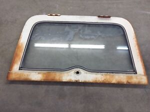 67 72 Jeep Jeepster Commando Tailgate Tail Gate Hatch Rear Glass