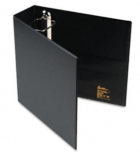 4 Avery Heavy duty Vinyl Ezd Ring Reference Binders 3 Capacity Black Ave79983