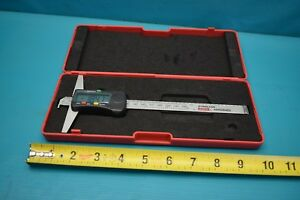 Used Spi Digital Depth Gage 0 150mm With Case