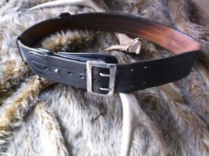 Vintage Sd Myres Sam Browne Police Duty Belt Size 34