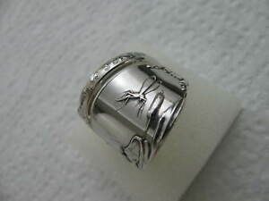 Sterling Silver Spoon Ring S 8 5 Mosquito Jewelry 5672