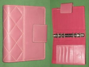 Compact 1 0 Pink Faux Leather Franklin Covey 365 Planner Binder 2092