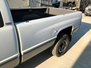 94 02 Dodge Ram 2500 3500 1500 8 Long Bed Box White With Tailgate