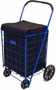 Jumbo Shopping Cart Liner Cover With Top Lid Cover shopping Cart Not Included