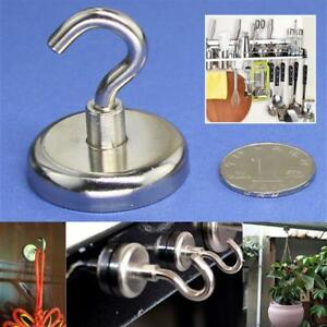 Kitchen Magnetic Recovery Hook Powerful Neodymium Magnet Strong Wall Holds