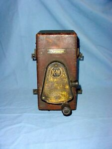 K W Vintage Spark Plug Dash Ignition Switch Coil Box Marsh Motors Buffalo Ny