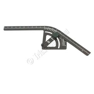 Mittler Brothers 6 Inch Radius Bend Protractor