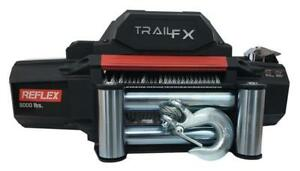 Trailfx Reflex Winch 12000lbs Wire Rope Electric Wired Wired Remote Wr12b