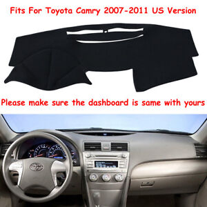 For Toyota Camry 2007 2011 Us Dashmat Dash Cover Dashboard Mat Car Interior Pad