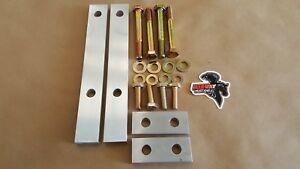 Midway Mustang 1979 2004 K Member sub Frame Spacers 1 2 Inch