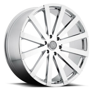 Velocity Vw12 24x9 5 5x115 13 Chrome Wheels