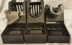 Pace Soldering Iron Holders Set New 1257191 12570237 12570189