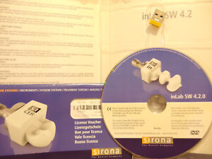 Inlab 4 2 Software With Licence Sirona New Cerec