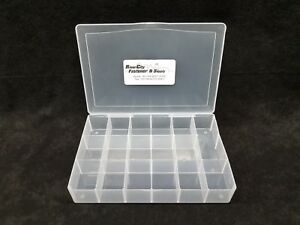 17 Hole Plastic Compartment Storage Tray Bin Organizer Box For Nuts Bolts