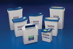 Covidien medical Supplies Pharmasafety Sharps Disposal Containers
