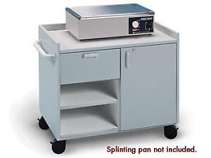 Hausmann Model 6695 Mobile Cabinet For Splinting And Supplies