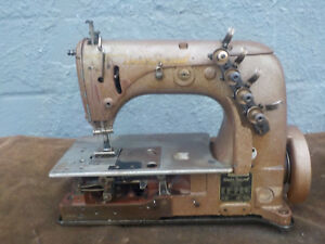 Industrial Sewing Machine Union Special 51 500 two Needle Chain