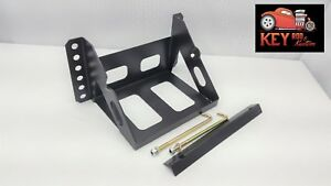 Adjustable Universal Battery Box Tray Lightweight 8 3 4 X 7 1 8 Race Car Frame