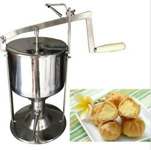 Manual Donut Filler Jelly Fill Filling Cream Filled 6l Kitchen Tool Cooking T