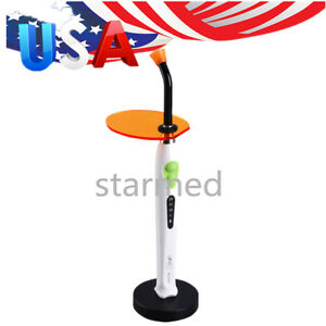 Usps Ship Dental Wireless Led Curing Light Lamp Xlite Iii 1100mw cm2 110 240 V