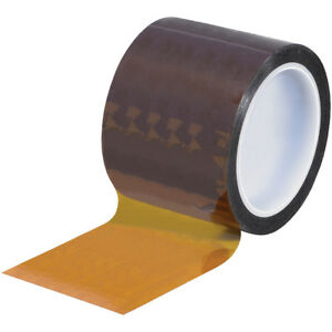 Kapton Tape 3 X 36 Yds Amber 1 case T968291
