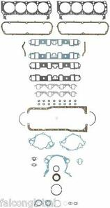 Ford 260 289 302 5 0 Fel Pro Full Gasket Set Race Competition 260 3005 1962 82