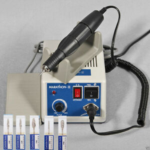 Jewelry Dental Micromotor Polisher Unit 35000 Rpm Handpiece N3 5 Drill Burs