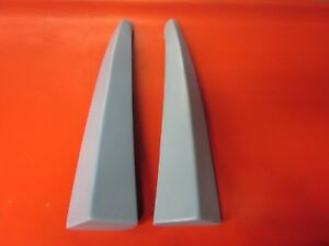 Fiberglass Mugen Style Rear Bumper Add On Spats For 98 02 Honda Accord Sedan