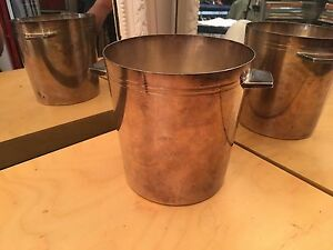 French Antique Ercuis Silver Plate Champagne Wine Ice Bucket 30 Grams Silver