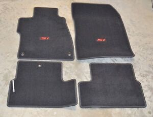 New Genuine Oem 2014 2015 Honda Civic Si Floor Mat Set 83600 ts9 a21za 2 Door
