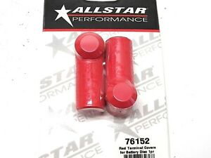Allstar Battery Disconnect Boots End Terminal Red Rubber 2pk All76152