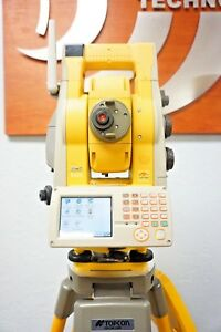 Topcon Is 03 3 Robotic Total Station W Fc 250 Rc 3 Controller Sokkia