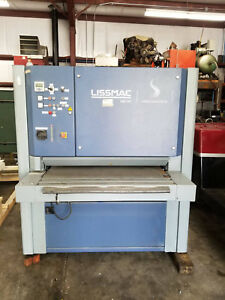Lissmac Deburring Machine Model Smd 124rt W Midwest Dust Collector Dc220css