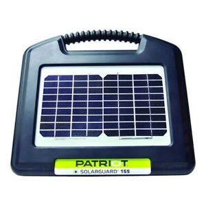 Solar Electric Fence 155 Energizer 10 Miles 40 Acres 21 Days Operations
