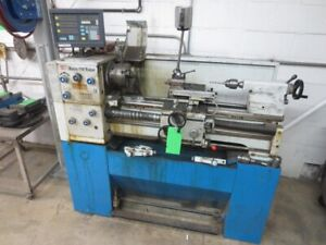12 X 25 5 Knuth Super 150 Gap Bed Engine Lathe W dro Tooling