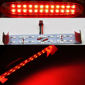 3rd Third Brake Stop Red Led Replace Panel Light Lamp For 04 2008 Mazda Rx8 Rx 8
