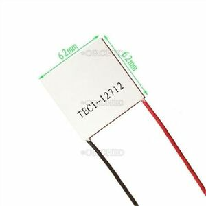 Heatsink Thermoelectric Cooler Cooling Peltier Plate Module Tec1 12712 I V10pcs