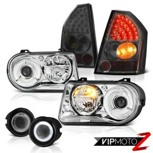 08 09 10 Chrysler 300c Clear Headlamps Signal Tail Lights Projector Foglamps