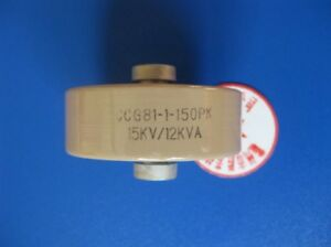 Ccg81 1 150pf 15kv 12kva High Frequency Voltage Ceramic Capacitor
