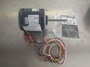 Direct Drive Blower And Fan Motor 3 4 1 5 Hp 208 230 Volt 1075 Rpm 5471