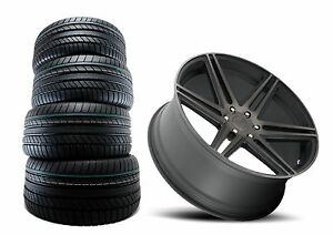 Dub Skillz Machined Black S123 26 Inch 26x10 6x135 Wheels And Tires Package