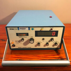 Met One Point 5 Particle Counter Pn P5s 1 1 Led Used Calibrated By Boeing