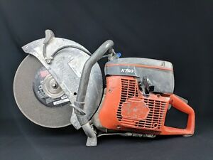 Husqvarna K760 Gas Powered Concrete Cut Off Wet dry Demo Saw