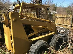 1986 Case 1845 Skid Steer Skid Loader