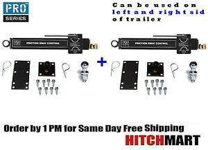 2 Pro Series Friction Sway Control For Weight Distribution Trailer Hitch 83660