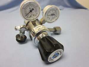 Harris High Puirty Hp702 Two Stage Chrome Plated Brass Regulator oxygen