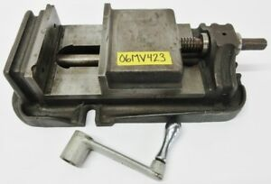 Lw Chuck 6 1 2 Milling Vise 5 Jaw Opening W Handle